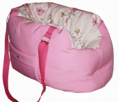 Luxus Carrier Rose Princess Romantic rosa Hundetragetasche
