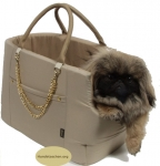 Hundetragetasche royal beige select